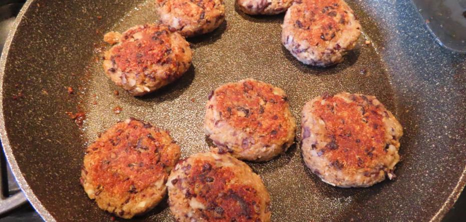 Spice up your vegan burger