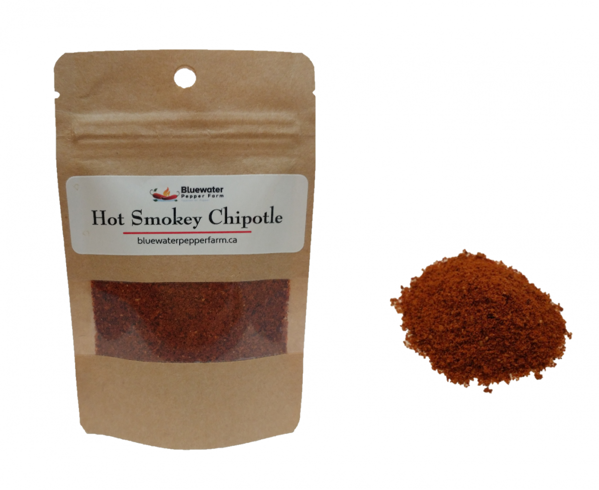 Hot Smokey Chipotle from the Bluewater Pepper Farm
