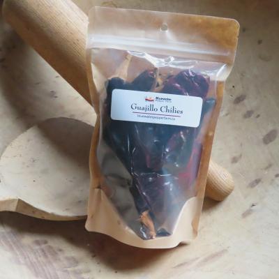 Guajillo chilies package