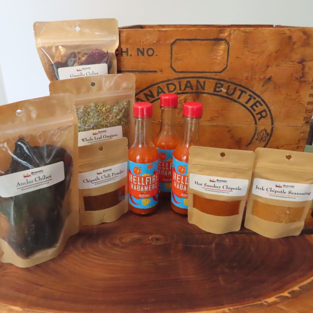 Bluewater Pepper Farm Products