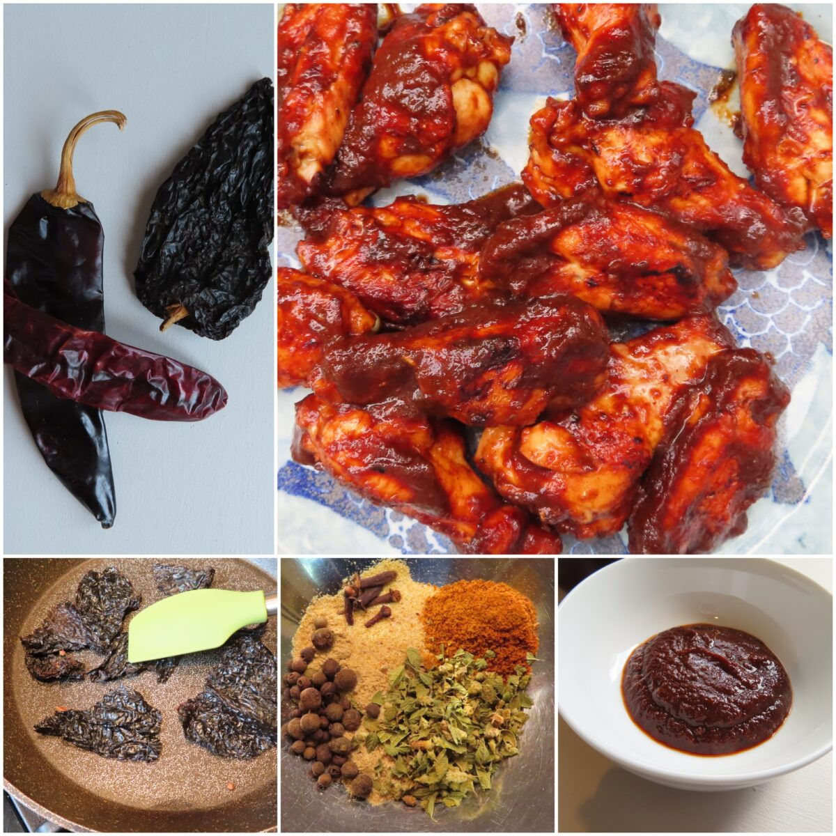 BBQ sauce ingredients and Wings
